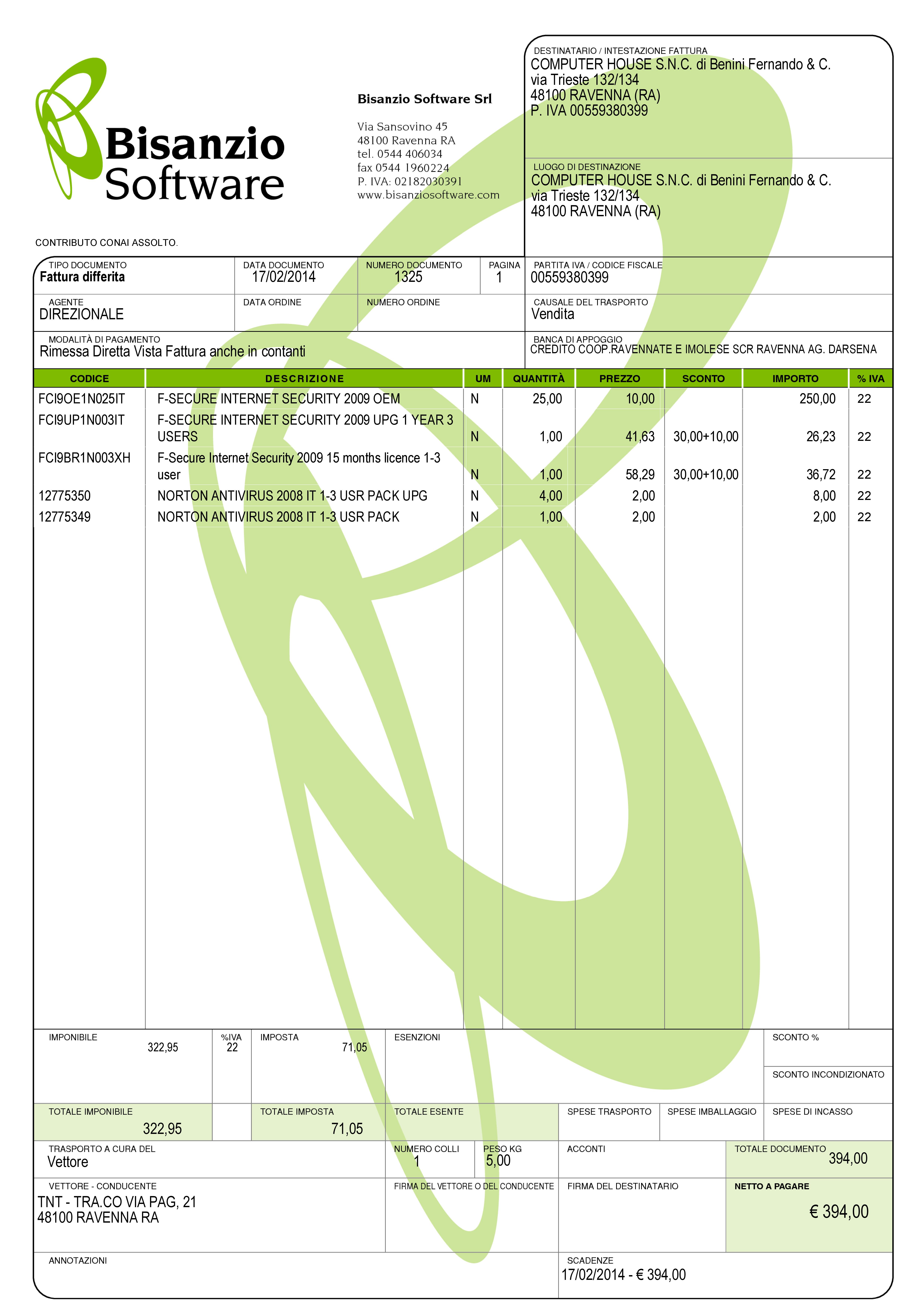 4 fattura immediata differita accompagnatoria e di for Acquisto mobili per ristrutturazione aliquota iva